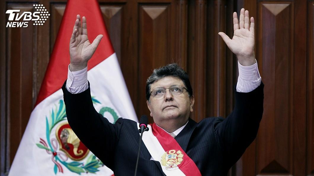 圖/達志影像路透社 秘魯前總統賈西亞涉貪 為避警逮捕開槍轟頭亡
