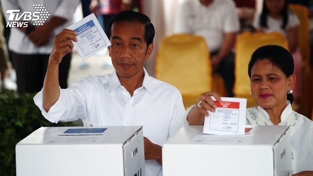 圖/達志影像路透社 印尼總統佐科威可望連任 與台關係正向發展不變