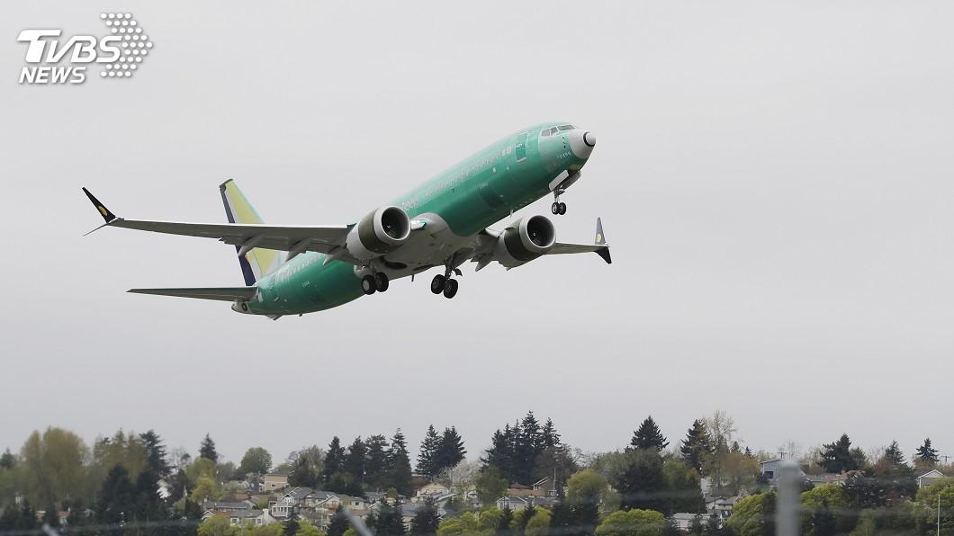 圖/達志影像美聯社 737 MAX軟體更新將驗收 波音完成最後試飛