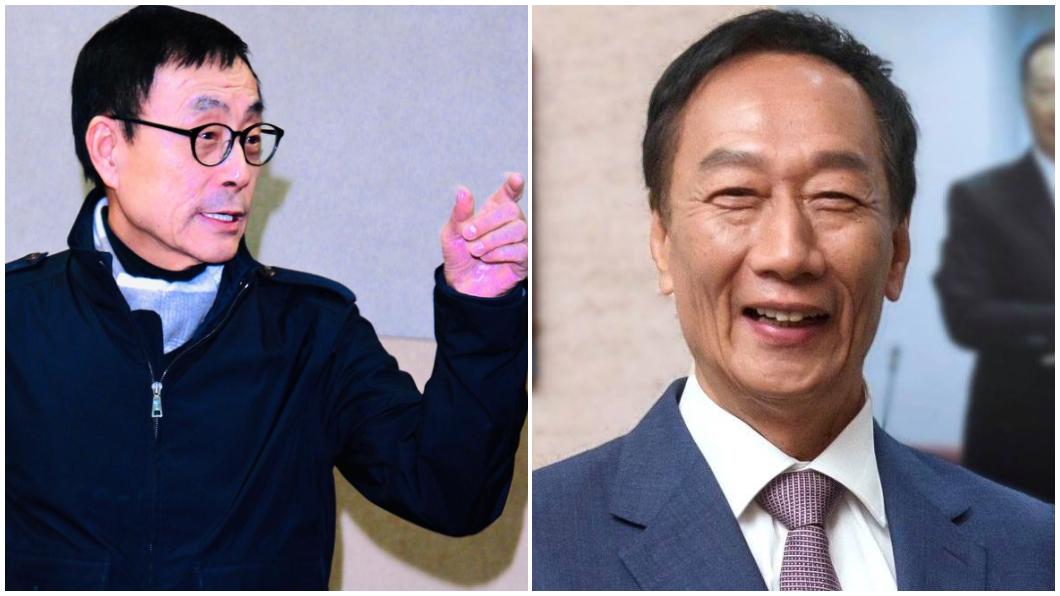 翻攝/劉家昌、郭台銘臉書 郭台銘參選總統!他挺韓反轟:對中華民國有何貢獻?