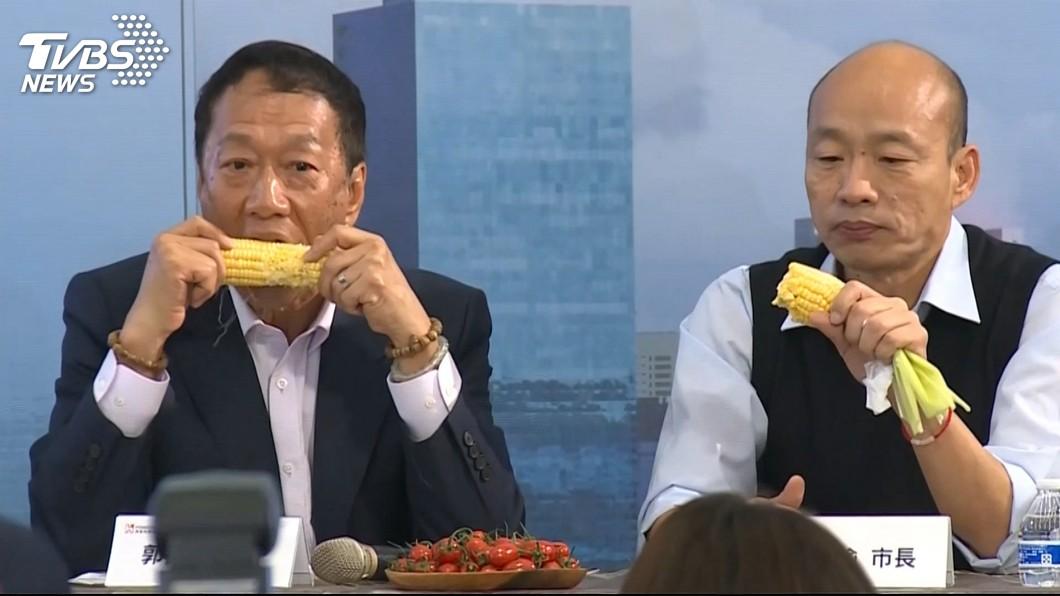 圖/TVBS資料畫面 吳馬郝聯手!10天火速「挺郭棄韓」內幕曝光