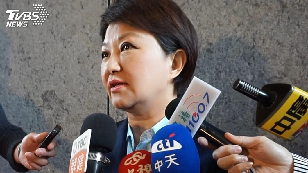 圖/中央社 是否擔任韓國瑜競總主委? 盧秀燕:要再考慮