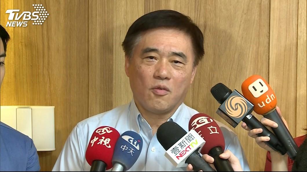 圖/TVBS 籲吳敦義退出不分區 郝龍斌:應全心全意輔選