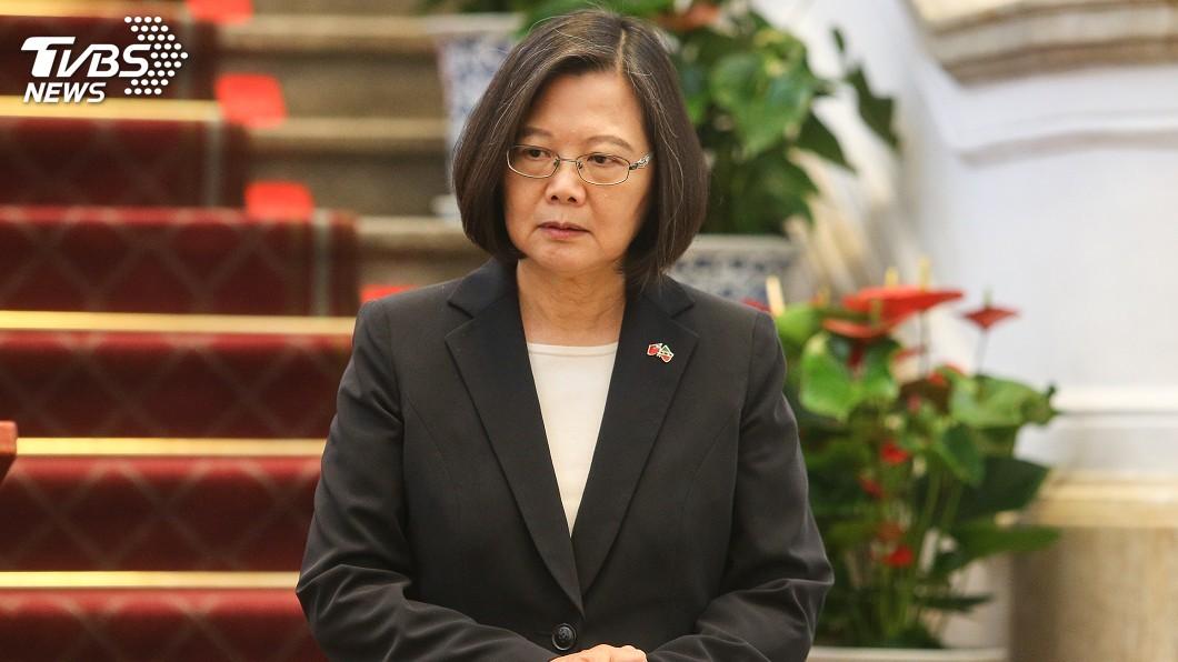 總統蔡英文。圖/中央社