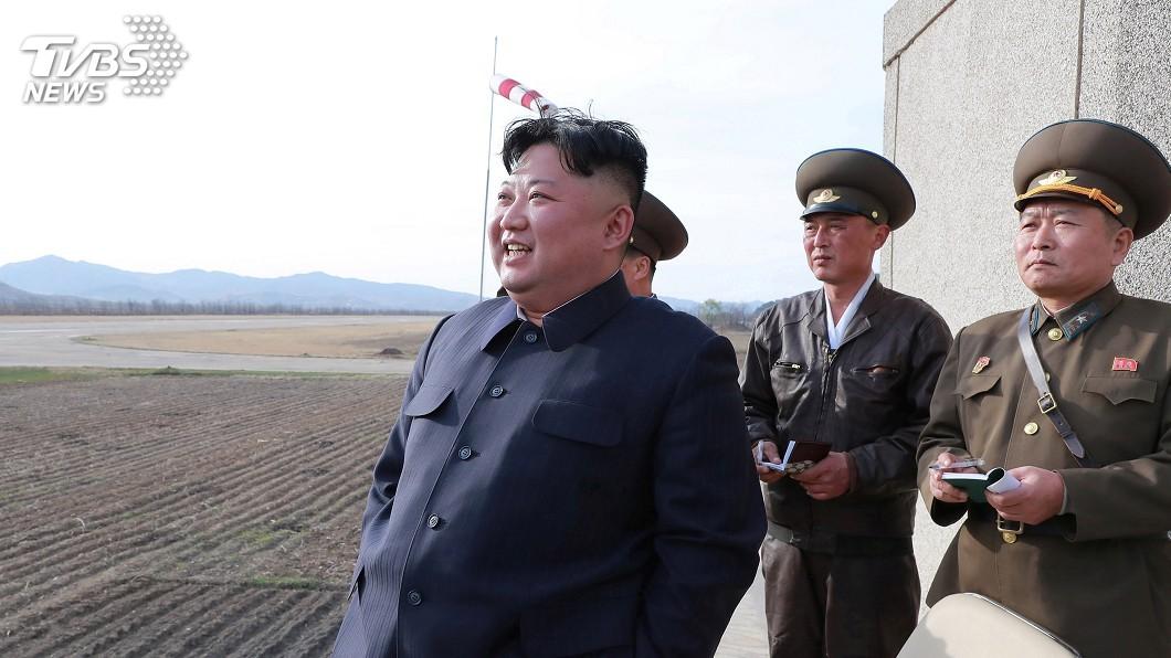 圖/達志影像路透社 金正恩再耀武揚威 北韓試射「新戰術飛彈」
