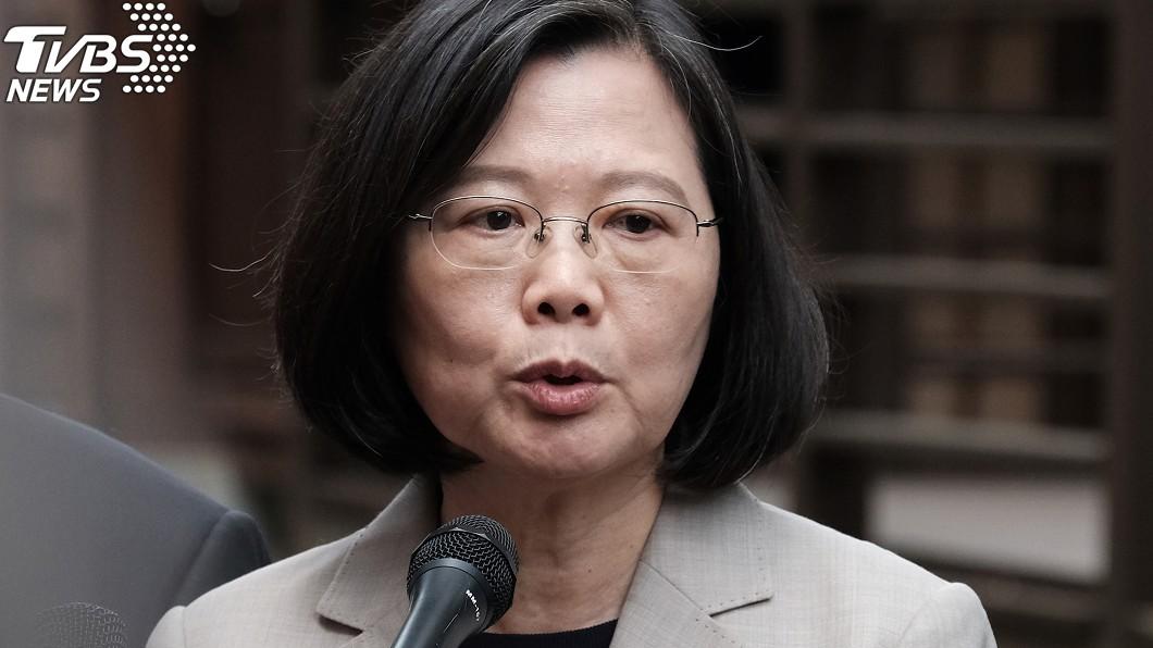 圖/中央社 「台灣沒軍法」惹怒蔡英文 韓國瑜回嗆:蔡總統沒當過兵