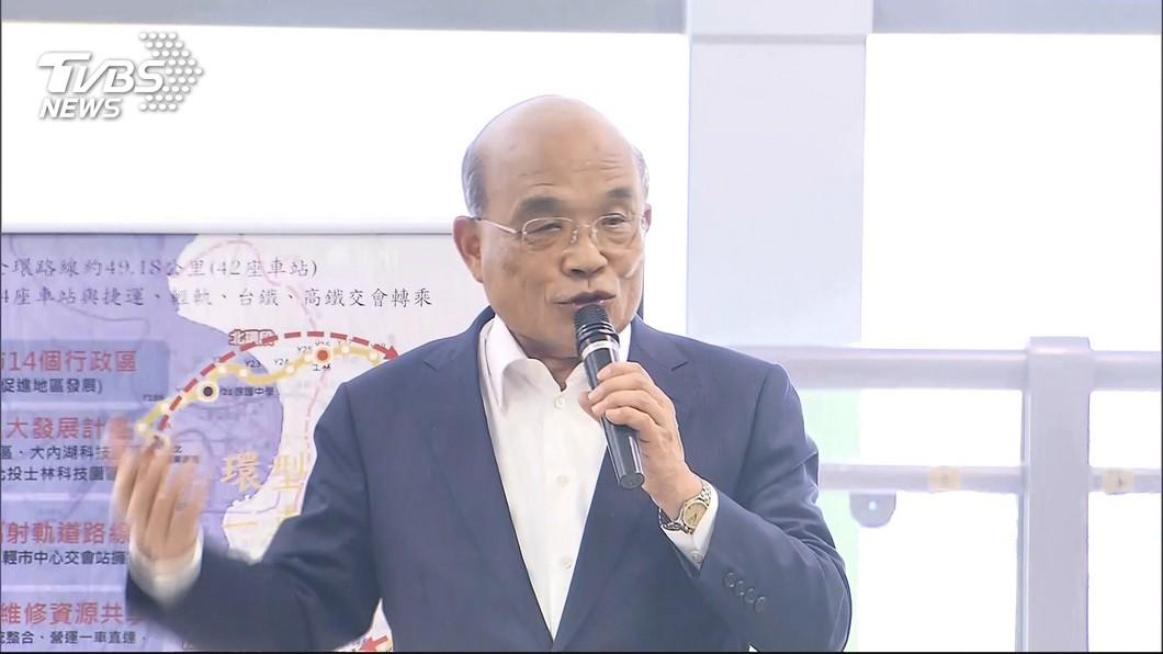 圖/TVBS 「政府幫你賺1萬退休金」 曾銘宗批:蘇貞昌製造假新聞