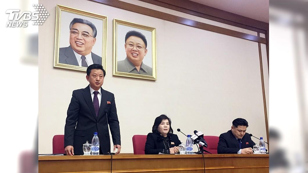 圖/達志影像美聯社 美高官轟北韓沒誠意棄核 北韓回嗆廢話連篇