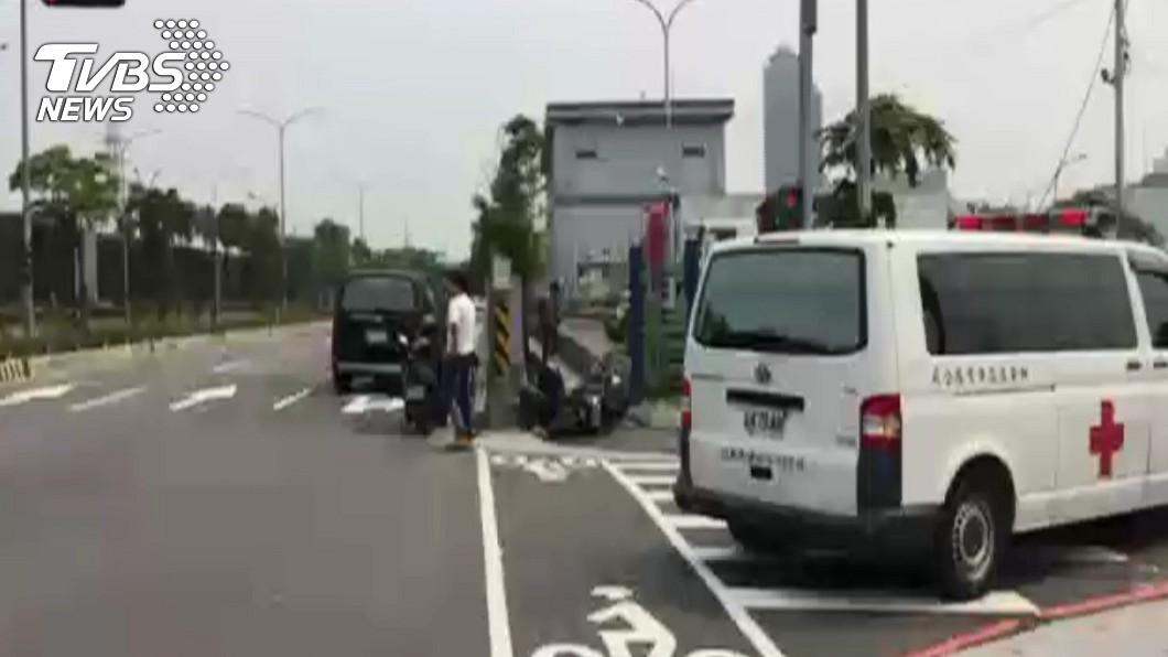 圖/TVBS 超速撞救護車害女友噴飛亡 高職男判賠612萬元
