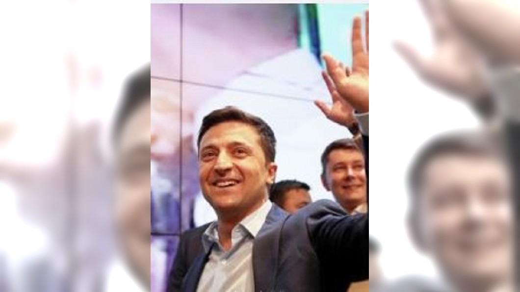 圖/翻攝自仝瀟華微博 烏克蘭大選寫驚奇! 諧星高支持率當選總統