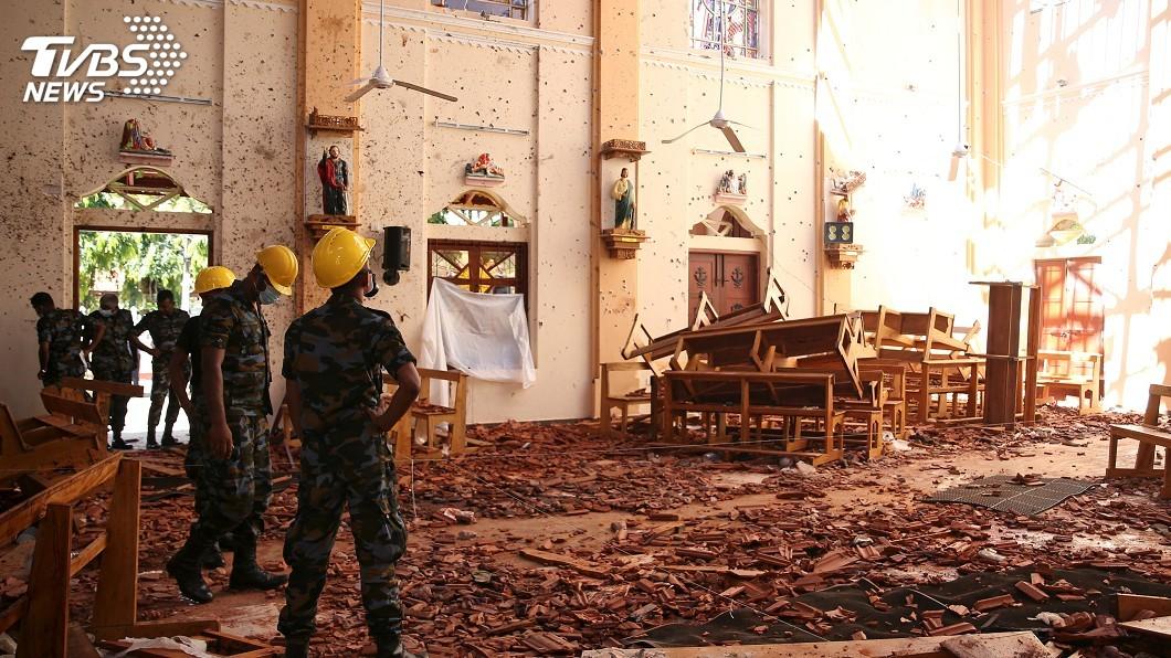 圖/達志影像路透社 機場又有第9枚炸彈! 斯里蘭卡連環爆290死
