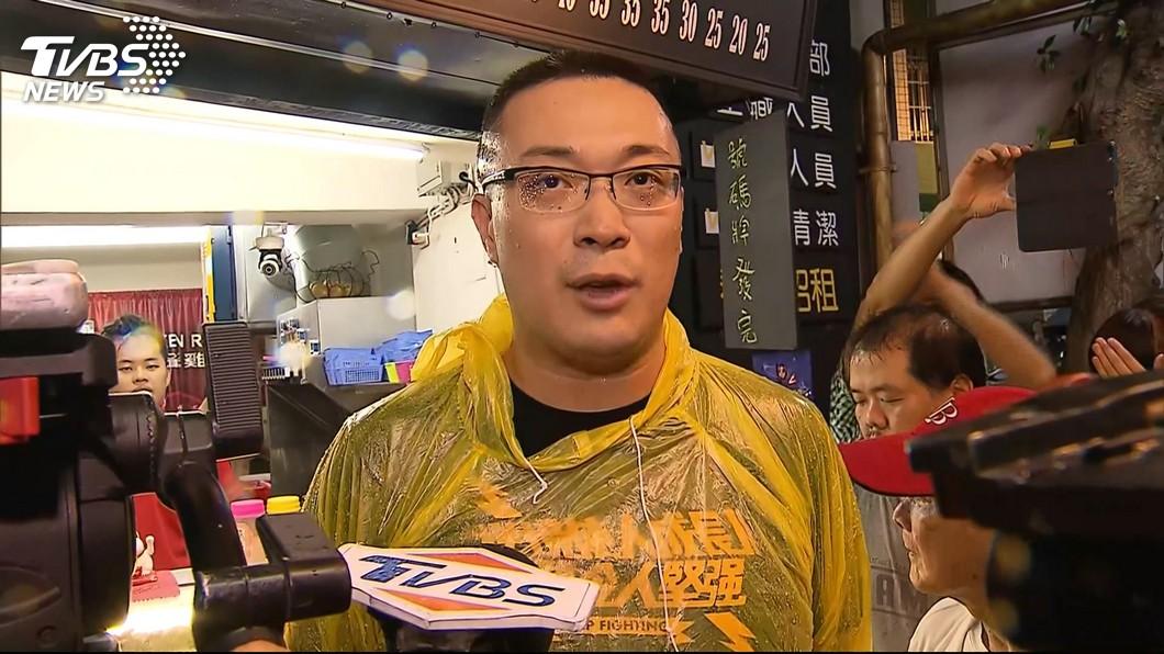 圖/TVBS 賭郭董不選請雞排 朱學恒:輸媽祖一句話