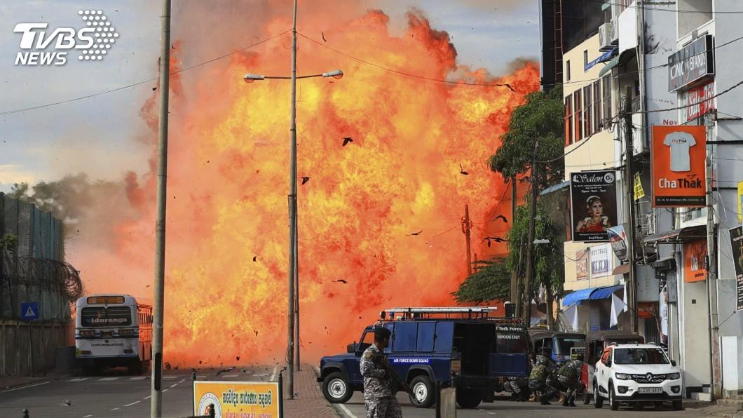 圖/達志影像美聯社 快訊/斯里蘭卡攻堅行動 警民駁火引爆炸彈15死