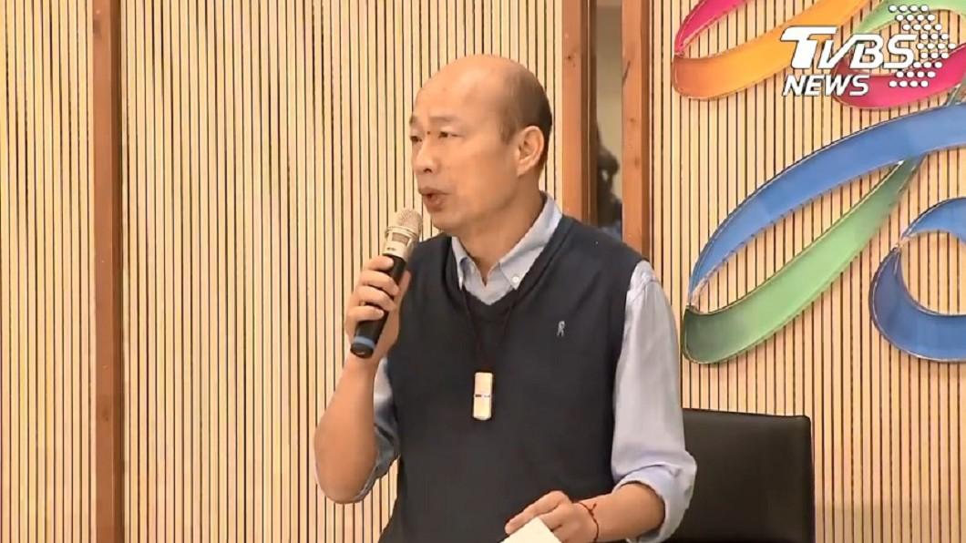 圖/TVBS 韓國瑜發5聲明 黃光芹狠酸「如此政客不值得期待」