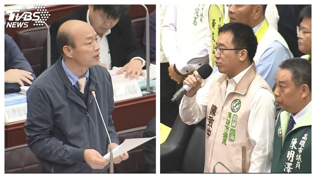 圖/TVBS 297萬市民成政治受災戶 陳致中嗆韓:放過高雄