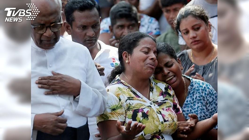 圖/TVBS IS宣稱攻擊斯里蘭卡 國殤日家屬哭斷腸
