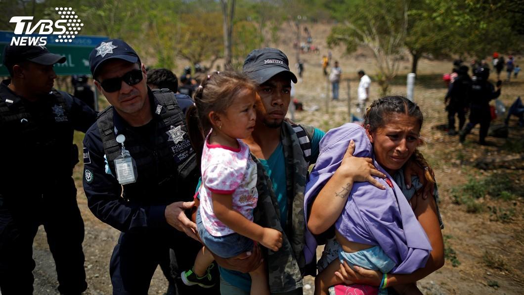 圖/達志影像路透社 阻擋移民北漂 墨西哥促美投資中美洲
