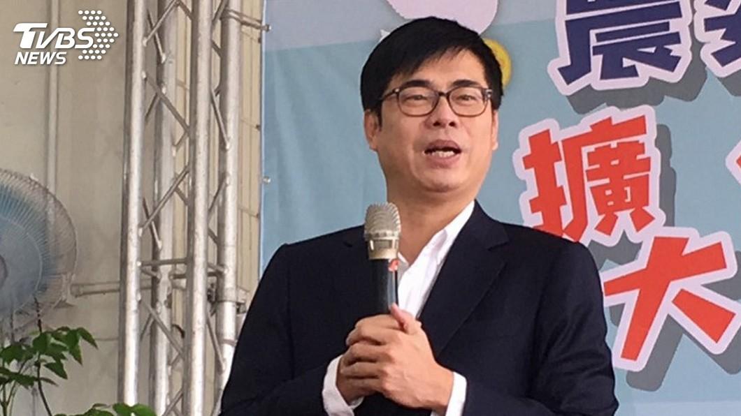 圖/中央社 韓國瑜質疑遭監聽 陳其邁:政治攻防要有證據