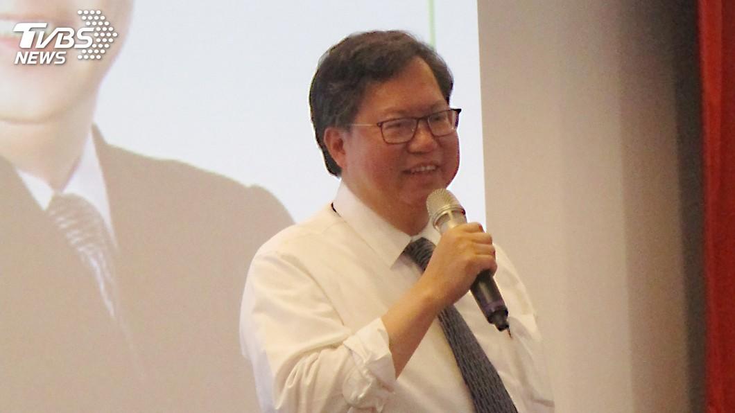 圖/中央社 柯文哲組黨 鄭文燦給祝福:民主台灣有組黨的自由