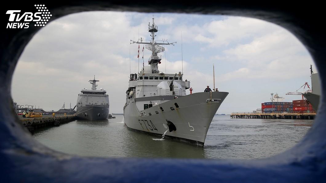 圖/達志影像美聯社 美透露法國軍艦通過台海 其他盟邦或將跟進