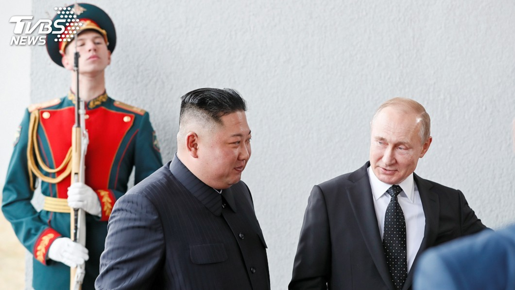 圖/達志影像路透社 金正恩訪俄 韓媒:普欽可能重提六方會談
