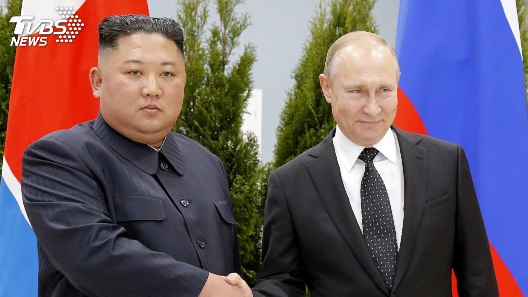 圖/達志影像美聯社 金正恩、普欽首次峰會登場 談及朝鮮半島議題