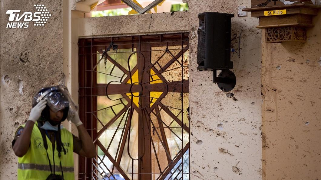 圖/達志影像美聯社 斯里蘭卡仍陷連環爆陰霾 天主教堂暫全面關閉