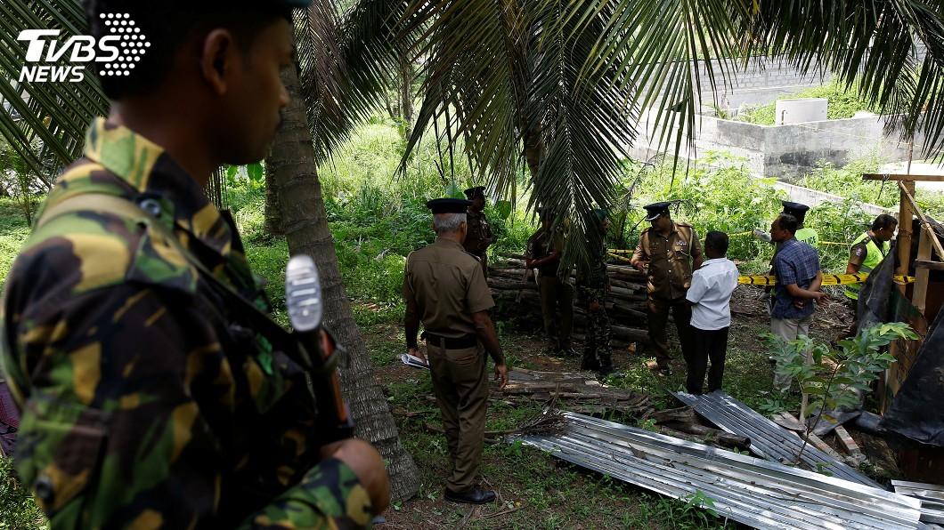 圖/達志影像路透社 搜復活節爆炸案線索 斯里蘭卡逮可疑外籍人士