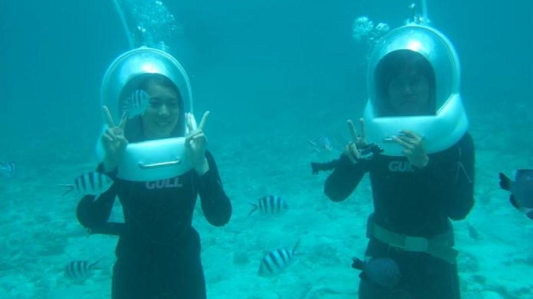 沖繩景點四季玩法-海底漫步。(圖/Tripbaa趣吧!亞洲自由行專家)
