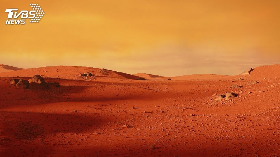 示意圖/TVBS 火星上也有地震! 洞察號偵測到「火星震」