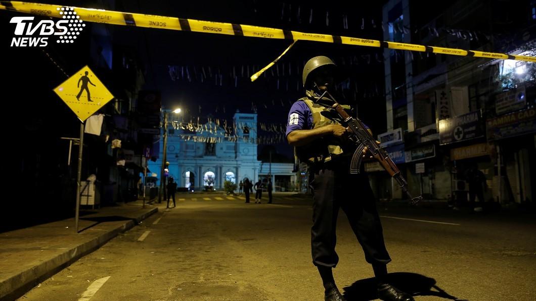 圖/達志影像路透社 斯里蘭卡富二代變炸彈犯 採ISIS「發包恐攻」