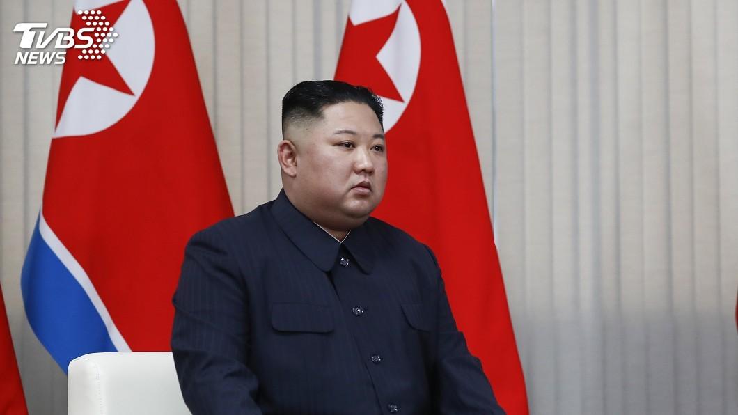圖/達志影像美聯社 朝鮮半島和平 金正恩:端視美國態度而定