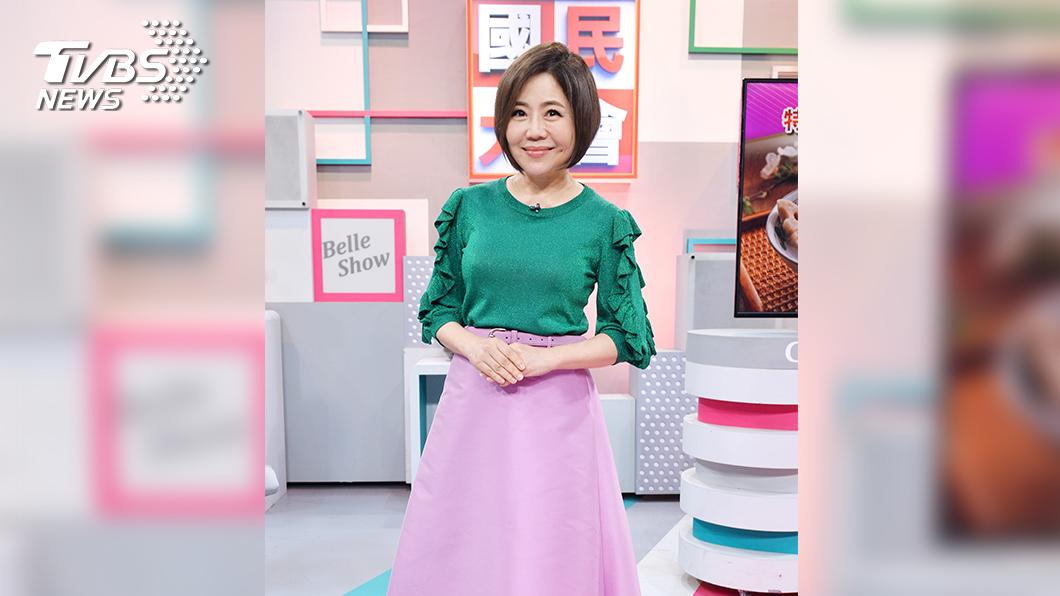 《國民大會》于美人近年來瘦身有成/圖TVBS提供 享受美食也能腰瘦腿細 于美人傳授私房小撇步