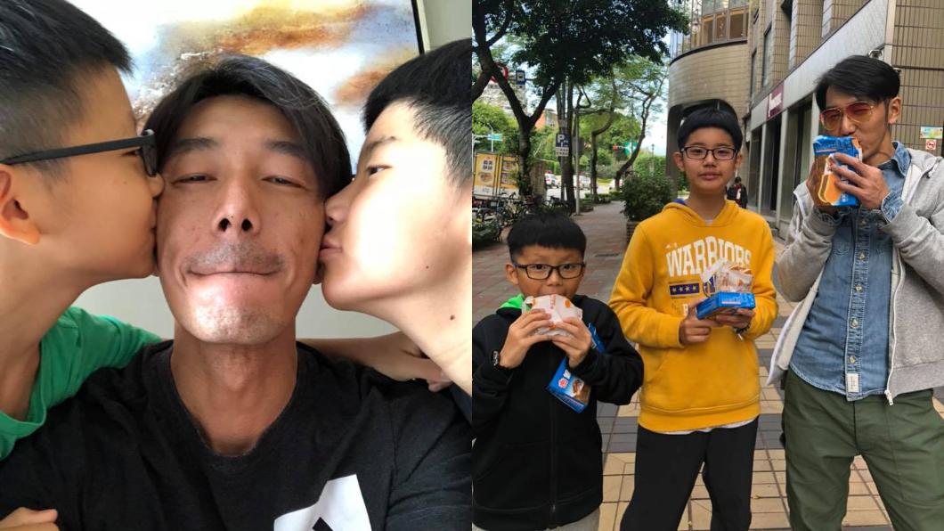 小孩子長大後,李李仁坦言還是想要「小小孩」。圖/翻攝自陶晶瑩臉書