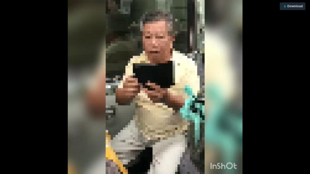 違規超帶行李上車,反大聲嗆列車長。圖/翻攝自臉書《台灣便當管理局-附屬鐵路部》 帶6件大行李上火車 老夫妻佔位還嗆:要錢我給你