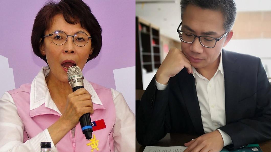 國民黨立委黃昭順(左)、名嘴羅友志(右)。圖/中央社、翻攝自羅友志臉書
