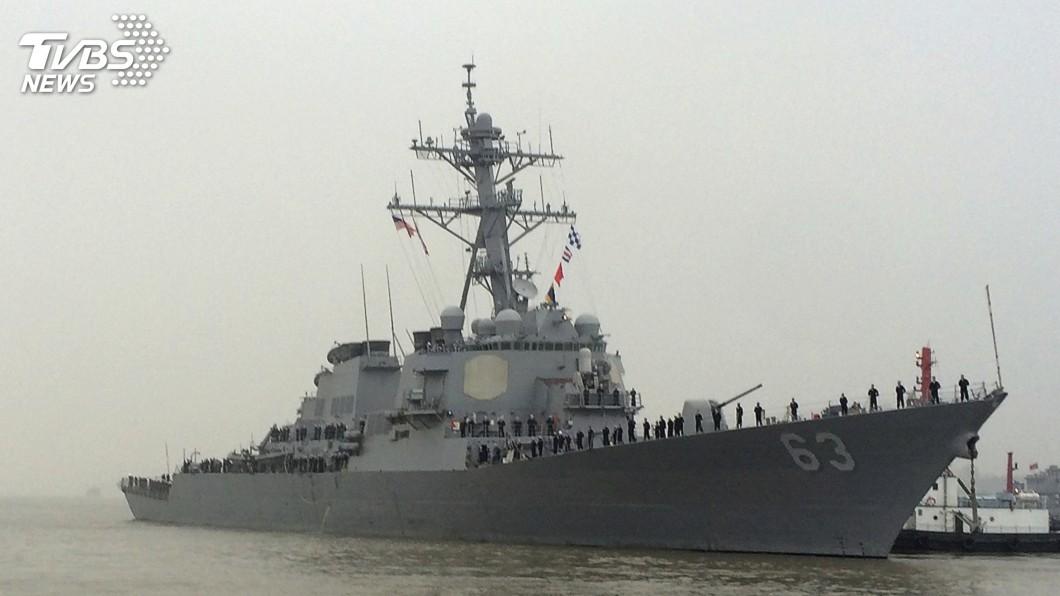 圖/達志影像美聯社 展現印太承諾! 美軍證實2艘軍艦航經台海