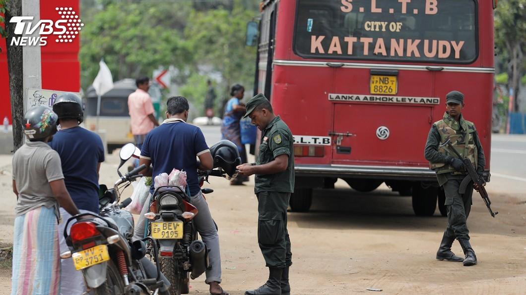圖/達志影像路透社 連環爆炸攻擊 斯里蘭卡禁止在公共場合遮掩臉部