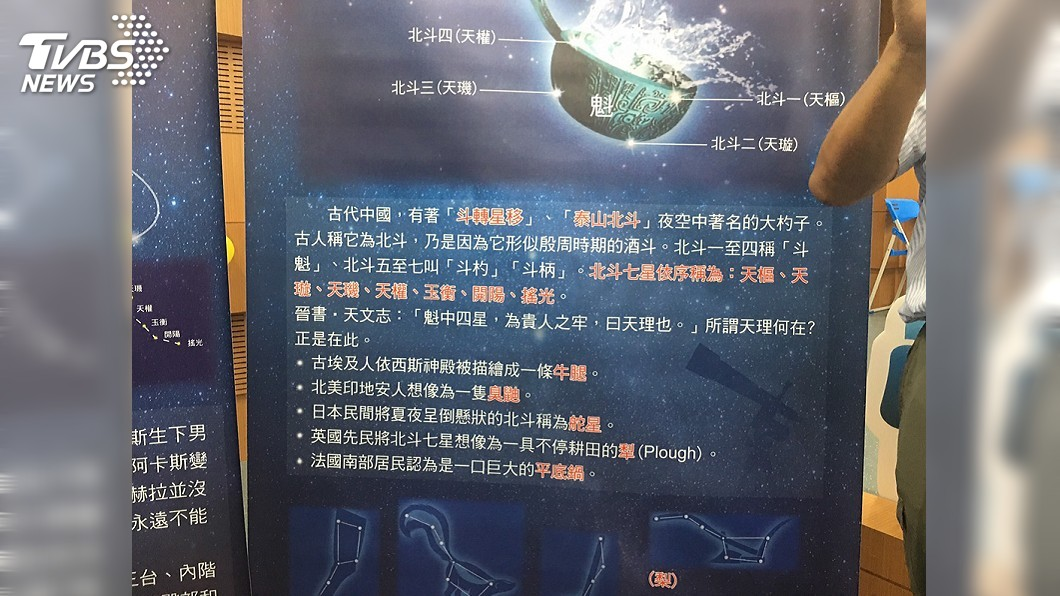 圖/中央社 恆春半島星空吶喊 將引導民眾觀中國古天文