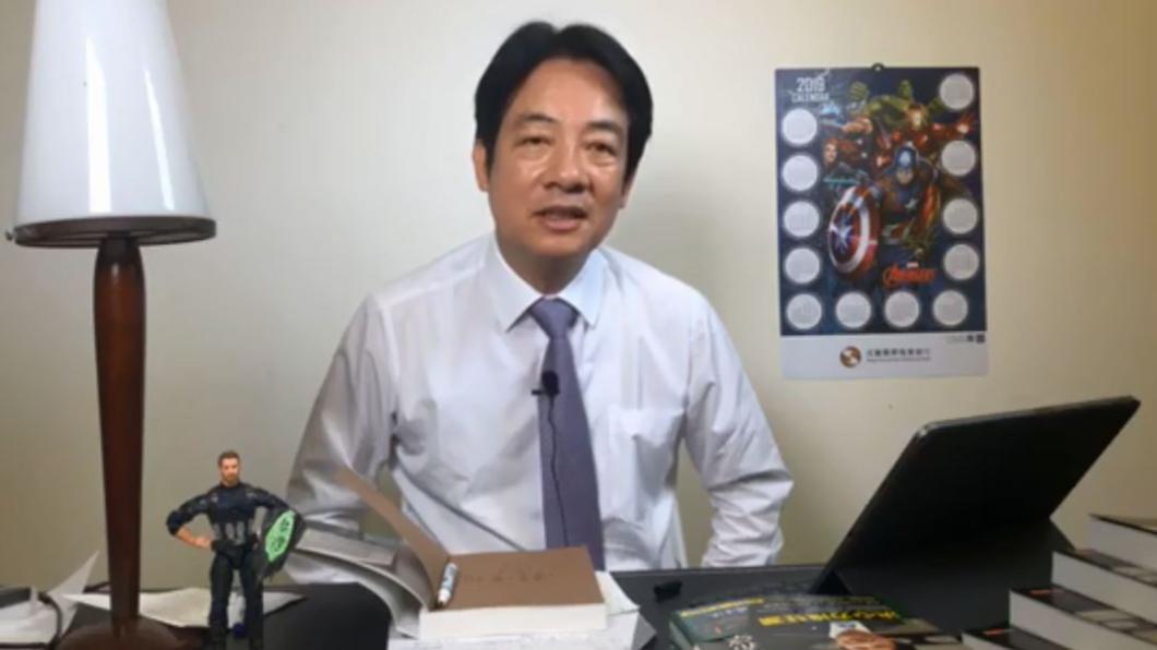 翻攝/賴清德臉書直播 郭董提「省國防救經濟」 賴清德嗆:這樣台灣穩死的