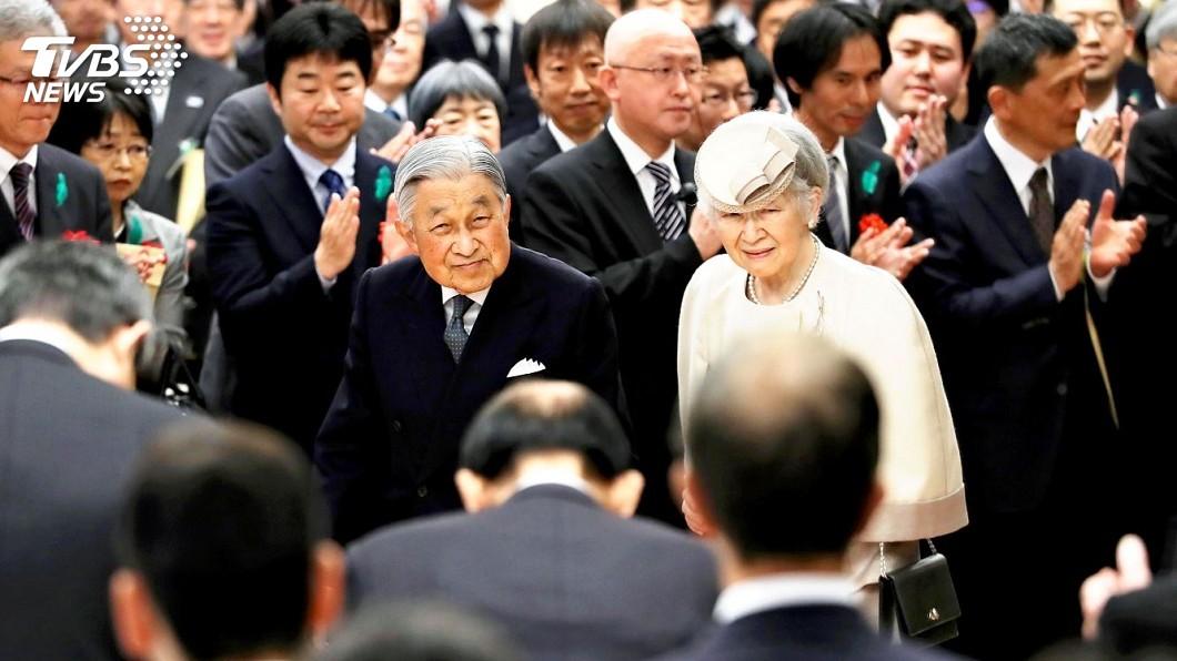 在位30年的明仁天皇,將在4月30日退位。(圖/達志影像美聯社,TVBS)