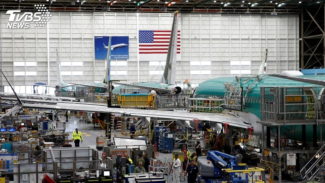 圖/達志影像路透社 驗收軟體修復 波音737 MAX可望下週試飛