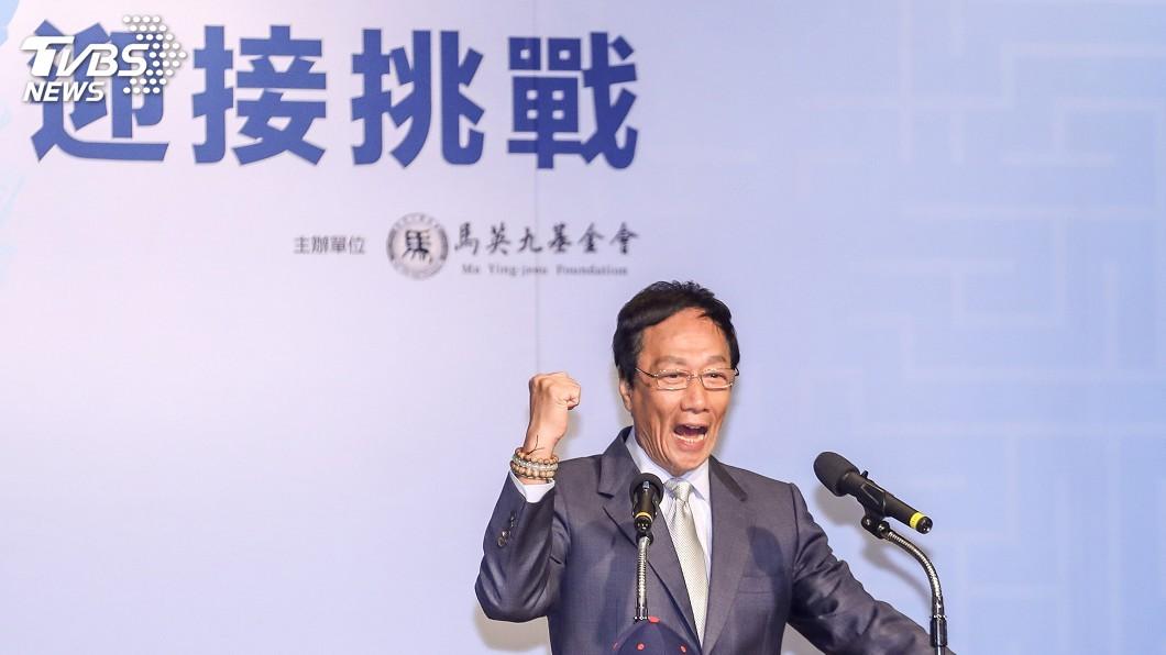 圖/中央社 農民發大財! 郭台銘:盼結合AI帶台灣農民進軍美國