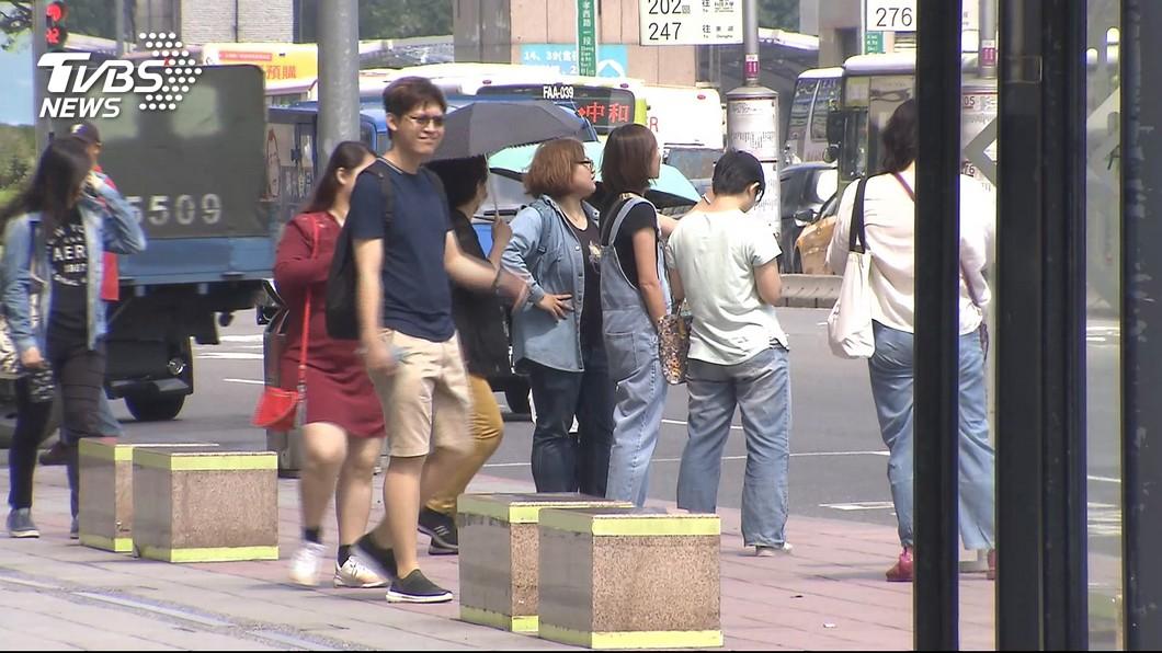 示意圖。圖/TVBS 收假日悶熱!入夜慎防大雨 下週連5天雨彈襲擊