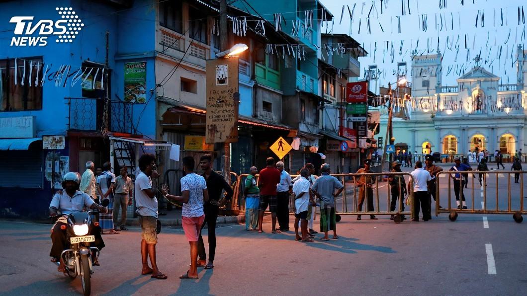 圖/達志影像路透社 解除社群媒體禁令 斯里蘭卡仍維持高度警戒