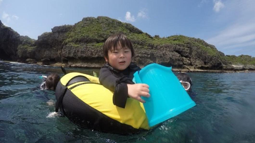 沖繩浮潛地點-恩納村。(圖/Tripbaa趣吧!亞洲自由行專家)