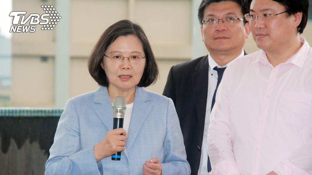 圖/中央社 回應黨內初選制度 蔡英文:真有必要時就是全代會