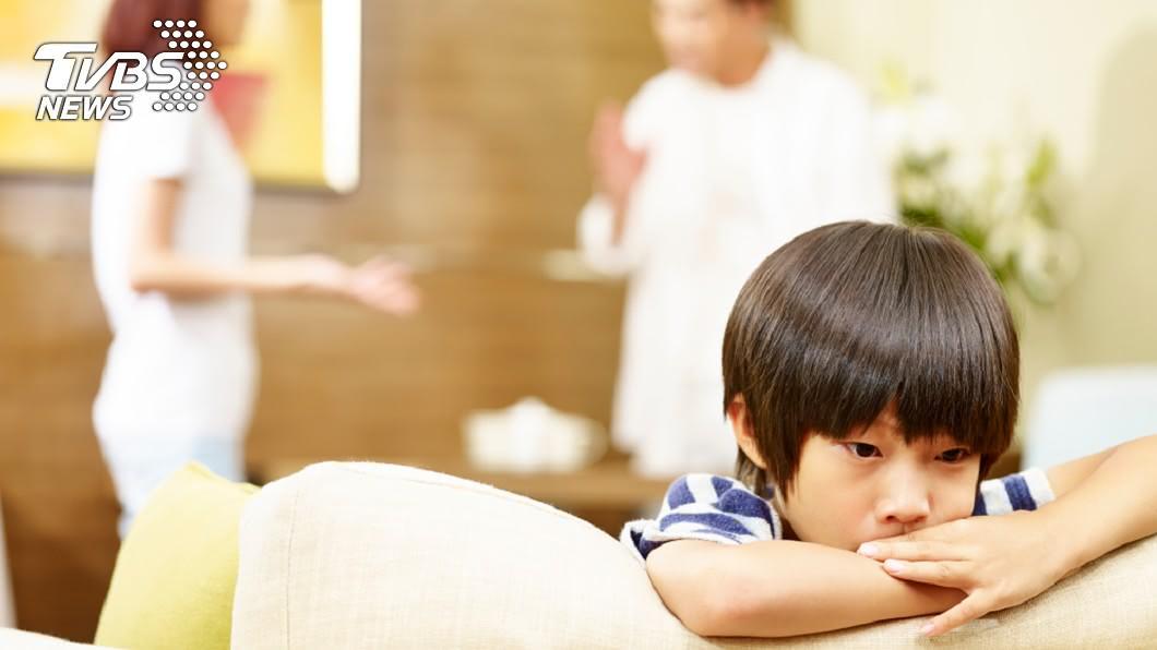 示意圖/TVBS 難道夫妻離婚後 孩子也變成陌生人了?