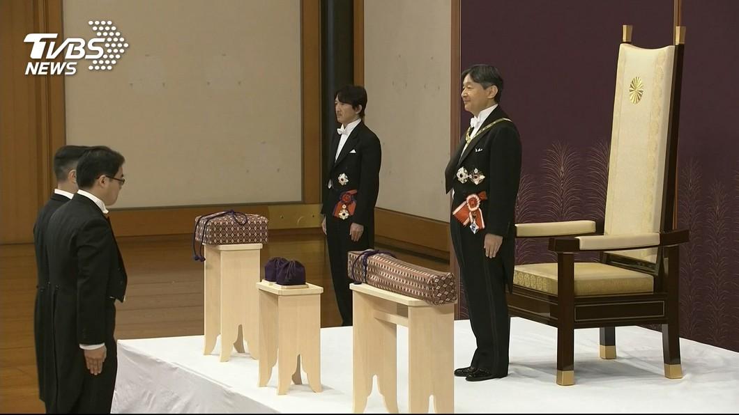 圖/達志影像美聯社 日本德仁天皇即位 開啟新的令和時代
