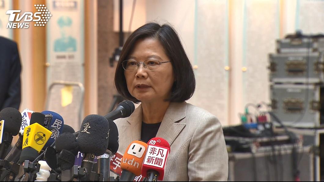 圖/TVBS資料畫面 總統台中辣台派開講 主打執政3年有成政績牌